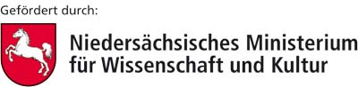 Logo Supported by Ministry of Science and Culture of Lower Saxony