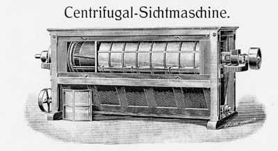 The centrifugal separator